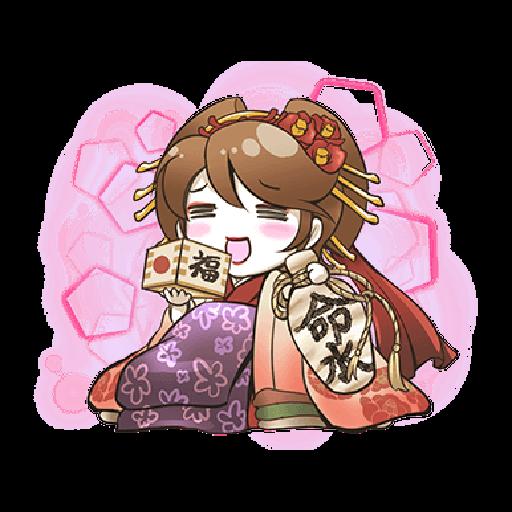 Hatsune Miku senbonsakura - Sticker 21