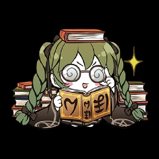 Hatsune Miku senbonsakura - Sticker 28