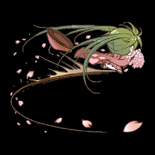 Hatsune Miku senbonsakura - Sticker 1