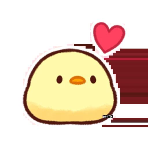 lil chick - Tray Sticker