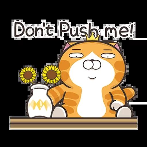 白爛貓英文版 - Sticker 22