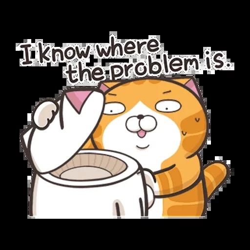 白爛貓英文版 - Sticker 19