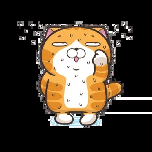 白爛貓英文版 - Sticker 7