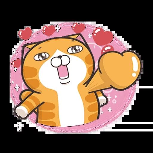 白爛貓英文版 - Sticker 13