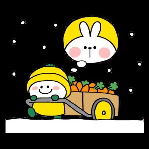 Spoiled rabbit 2019新年版 2 - Sticker 12