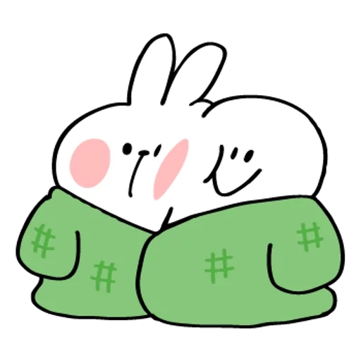 Spoiled rabbit 2019新年版 2 - Sticker 14