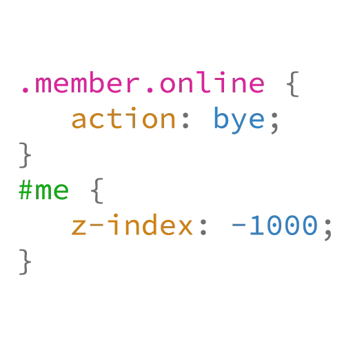CSS Class - Sticker 6