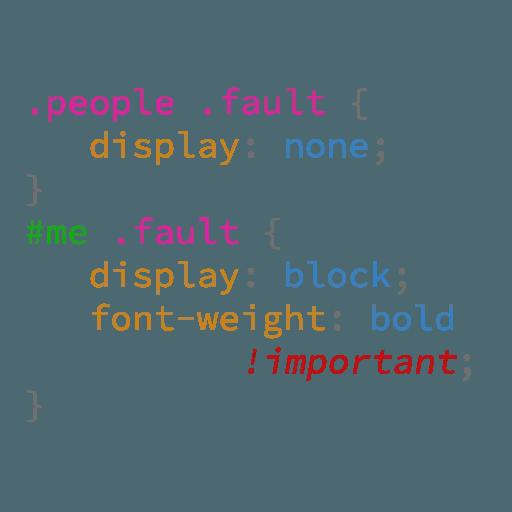 CSS Class - Sticker 8