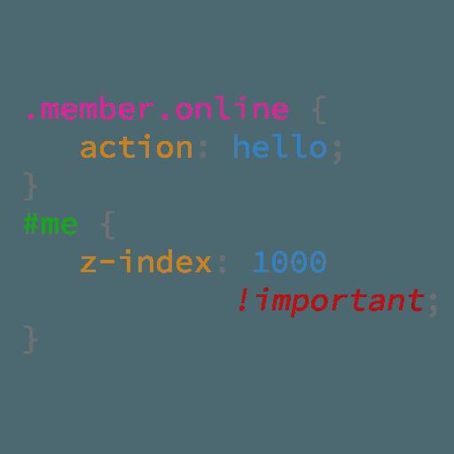 CSS Class - Sticker 5