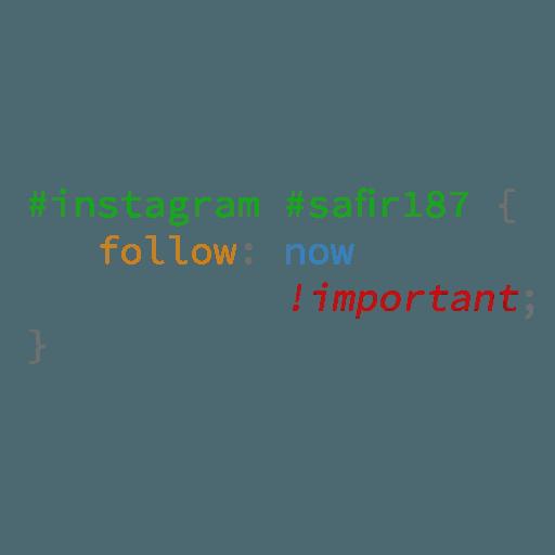 CSS Class - Sticker 9