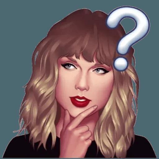 Taylor Swift - Taymoji - Sticker 6