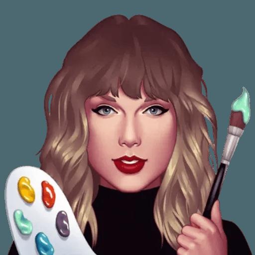 Taylor Swift - Taymoji - Sticker 13
