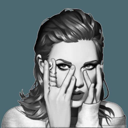Taylor Swift - Taymoji - Sticker 29