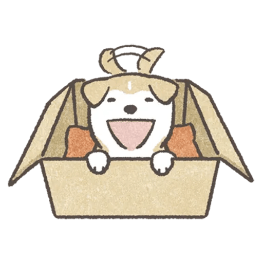 SHIBA-Puppy - Tray Sticker