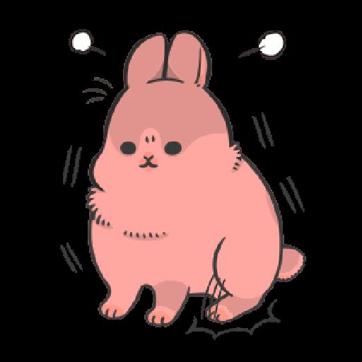 ㄇㄚˊ幾兔14 嬲 - Tray Sticker