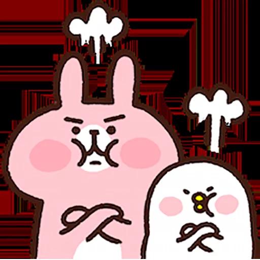 Piske & usagi - Sticker 15