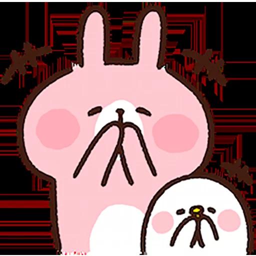 Piske & usagi - Sticker 24
