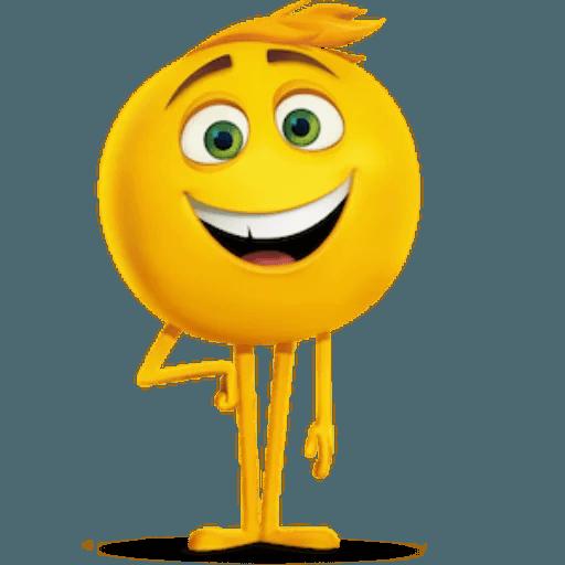 The Emoji Movie - Sticker 1