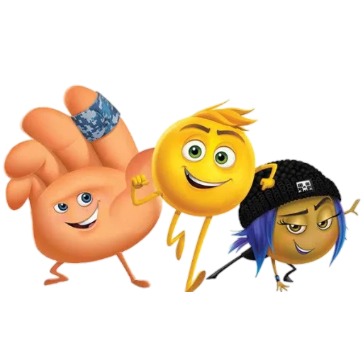 The Emoji Movie - Sticker 23