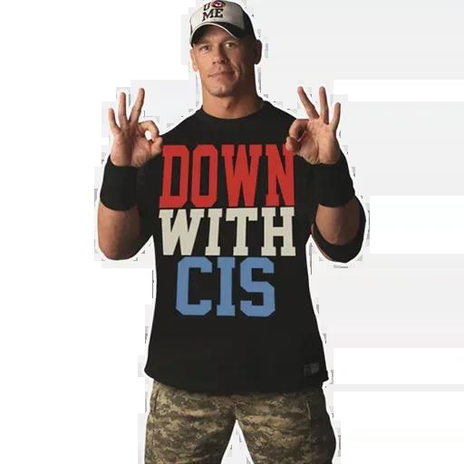 John Cena [@TeamWrestling] - Sticker 16