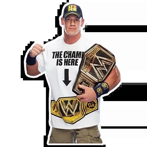 John Cena [@TeamWrestling] - Sticker 7