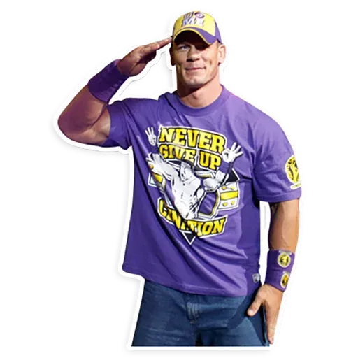 John Cena [@TeamWrestling] - Sticker 3