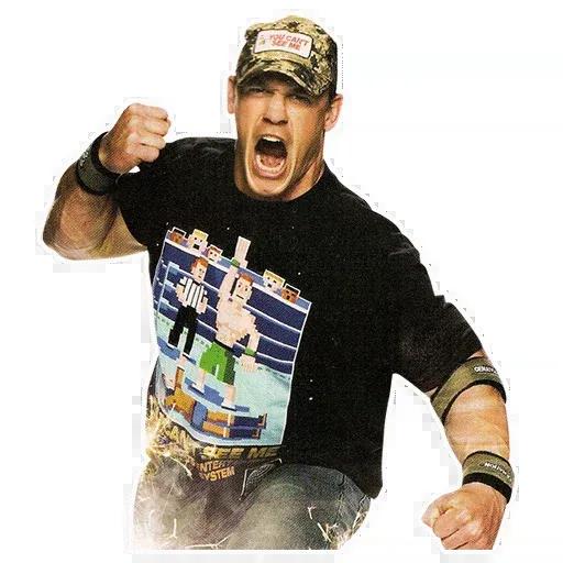 John Cena [@TeamWrestling] - Sticker 5