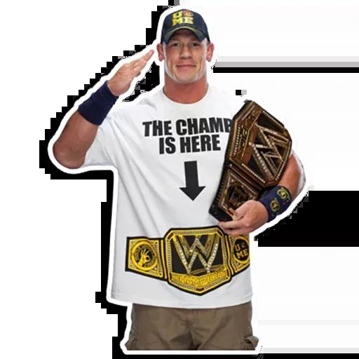 John Cena [@TeamWrestling] - Tray Sticker