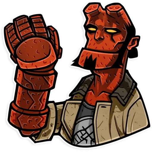 Hellboy - Sticker 8