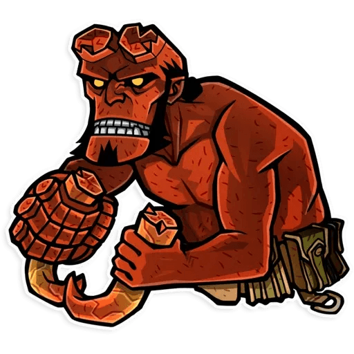 Hellboy - Sticker 5