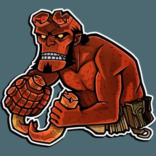 Hellboy - Sticker 5