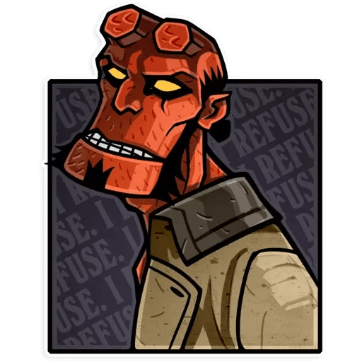 Hellboy - Sticker 13