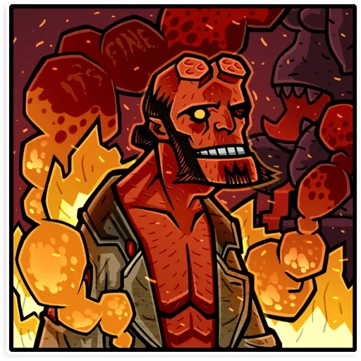 Hellboy - Sticker 7
