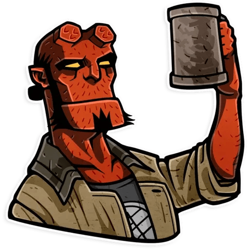Hellboy - Sticker 14