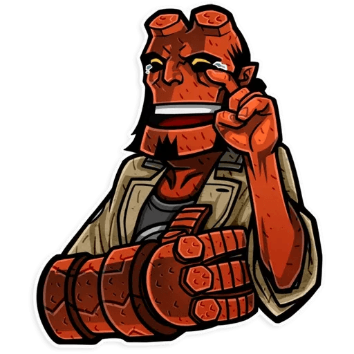 Hellboy - Sticker 2
