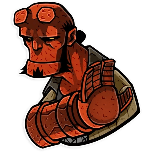 Hellboy - Sticker 12