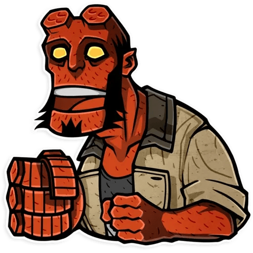 Hellboy - Sticker 17