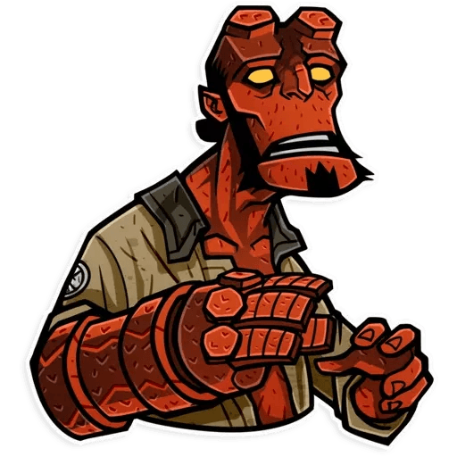 Hellboy - Sticker 4