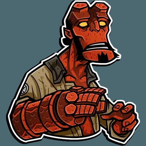 Hellboy - Sticker 4