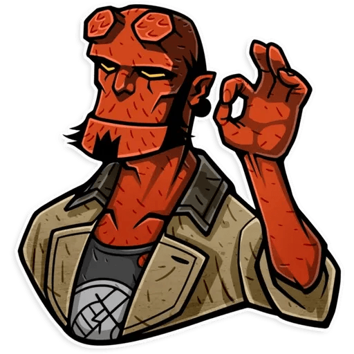 Hellboy - Sticker 16
