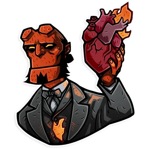 Hellboy - Sticker 3
