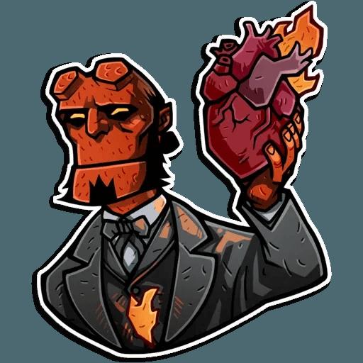 Hellboy - Sticker 3
