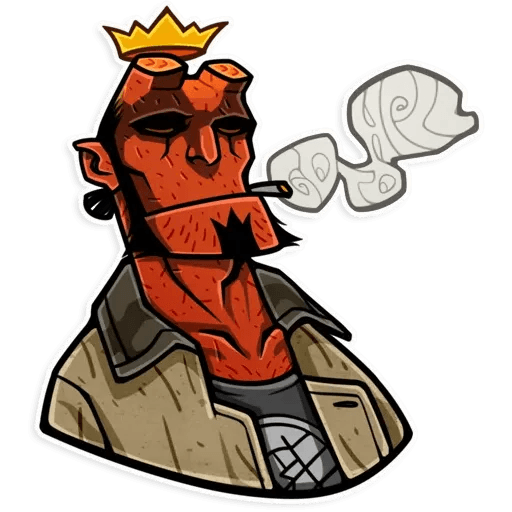 Hellboy - Sticker 11