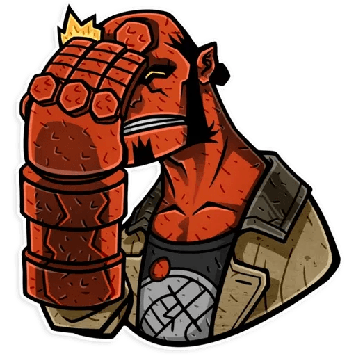 Hellboy - Sticker 9