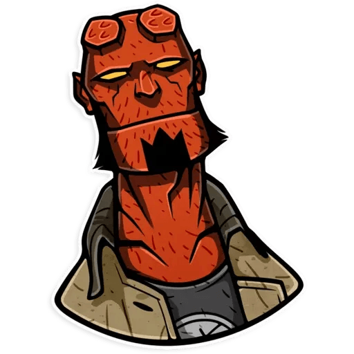 Hellboy - Sticker 15