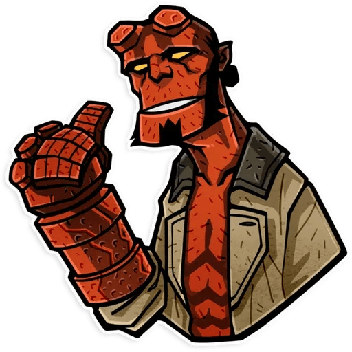 Hellboy - Sticker 1