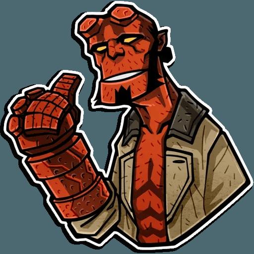 Hellboy - Sticker 1