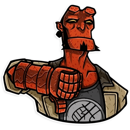 Hellboy - Sticker 6
