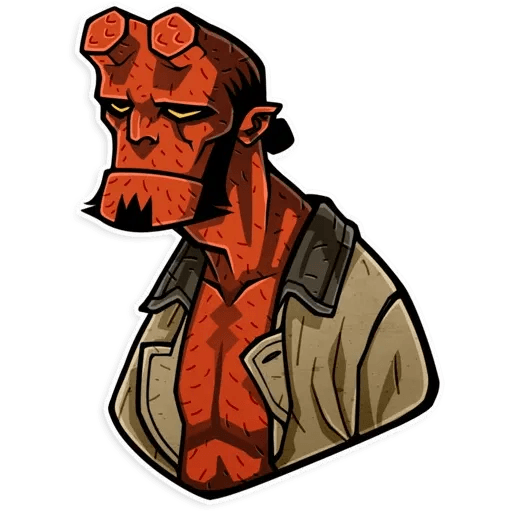 Hellboy - Sticker 10