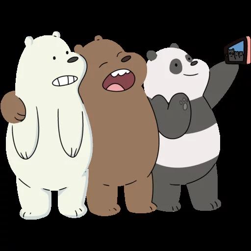 We Bear Bears - Sticker 9